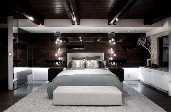 199个装修风格各异的大型卧室设计灵感_421227