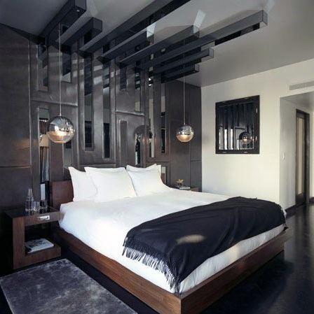 199个装修风格各异的大型卧室设计灵感_421233