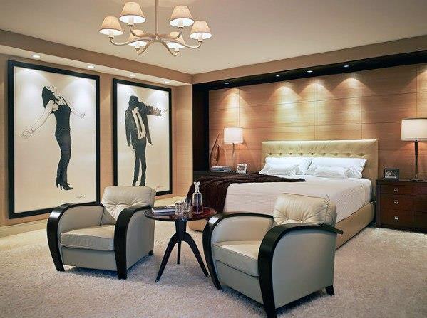 199个装修风格各异的大型卧室设计灵感_421209