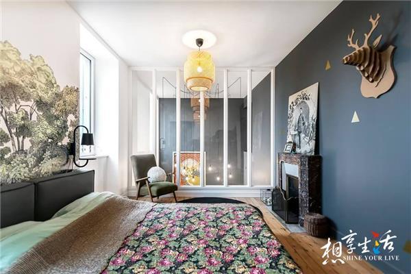 199个装修风格各异的大型卧室设计灵感_418620