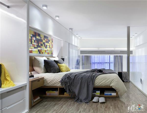 199个装修风格各异的大型卧室设计灵感_418626