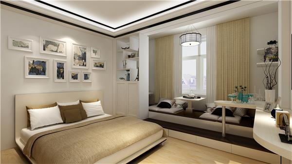 现代简约卧室设计_418798