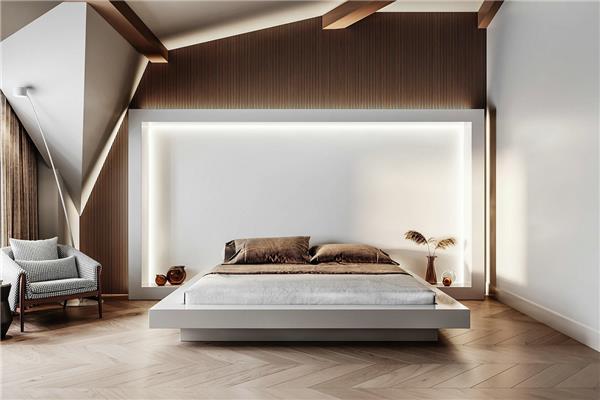 客房卧室,浴室,衣柜设计 | Vladislava Torgonsky