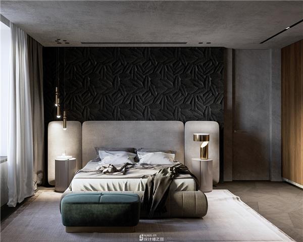 现代分割卧室装修设计案例