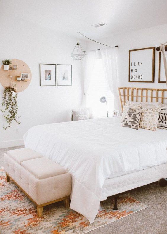 Boho Inspired Master Bedroom