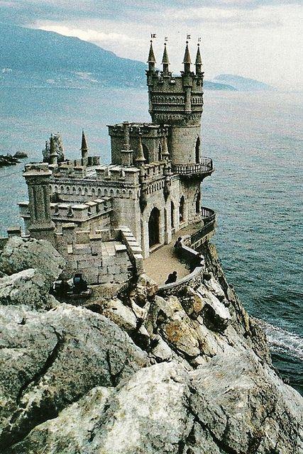 欧洲城堡:Castle on the Black Sea in Ukraine