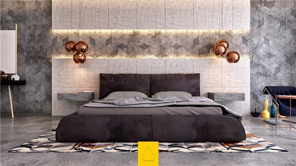 199个装修风格各异的大型卧室设计灵感_420414