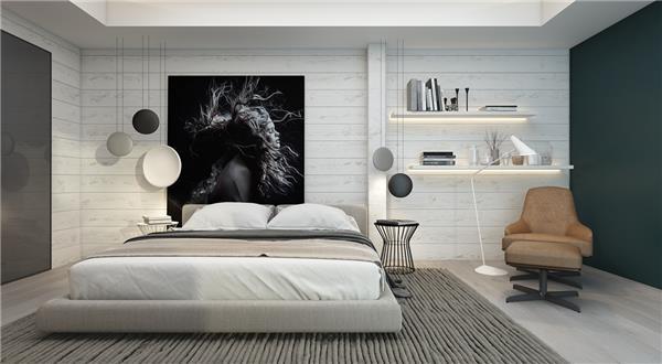 199个装修风格各异的大型卧室设计灵感_420415