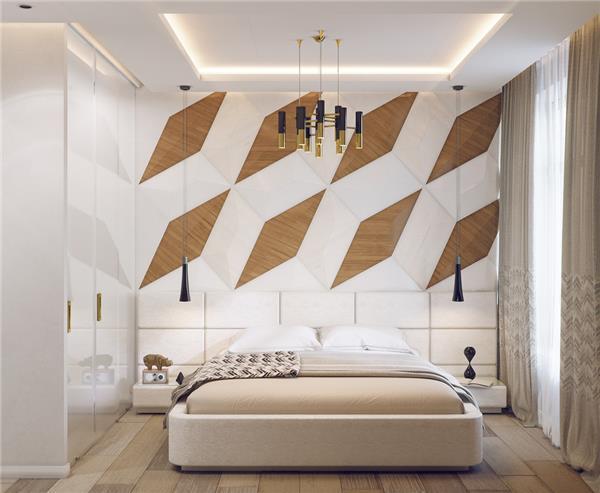 199个装修风格各异的大型卧室设计灵感_420421
