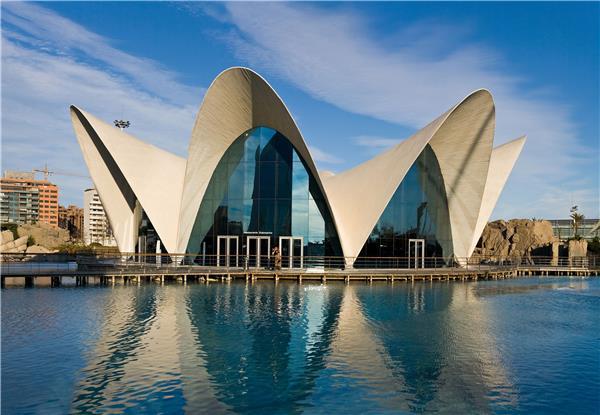 西班牙巴伦西亚海洋馆
