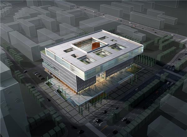 南开大学图书馆   乐土设计