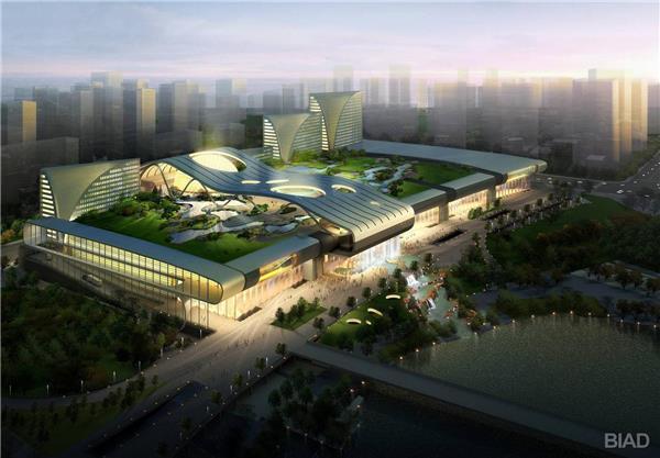 杭州奥体博览中心   BIAD