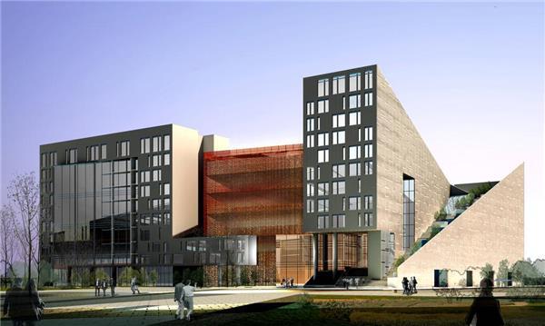 首都师范大学艺术教学楼   北京清石建筑设计咨询有限公司_3529857