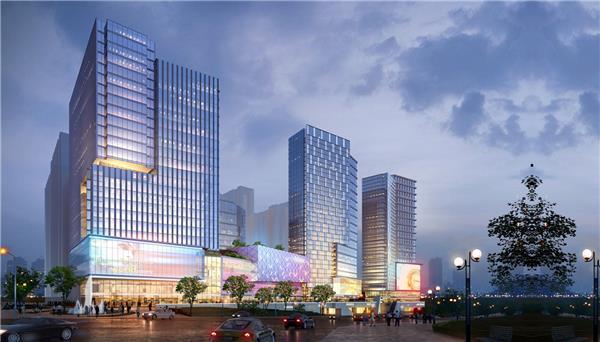 华著中城综合体 | 独特视野建筑设计有限公司