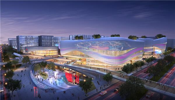 西虹桥国际文化艺术中心 | 独特视野建筑设计有限公司