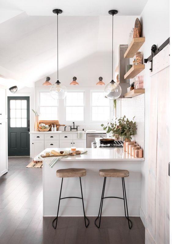 小户型厨房装修装饰设计#室内设计 #操作台 #橱柜