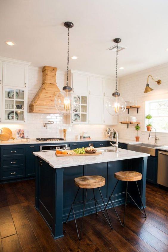 现代厨房装修装饰设计#室内设计 #操作台 #橱柜