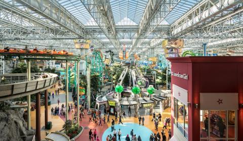 美国购物中心(The Mall of America)