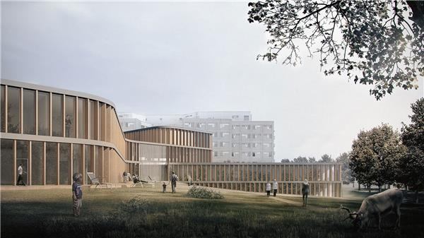 芬兰拉普兰中心医院扩建