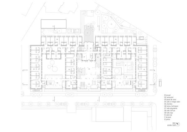 Broussais 医院大楼