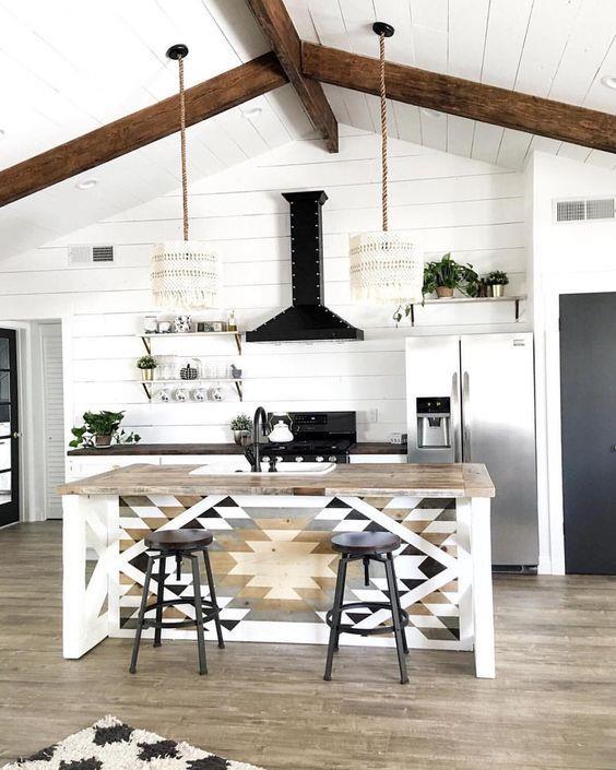 波西米亚风格厨房设计创意_440100