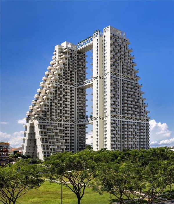 直达天空的集合住宅 新加坡天空住宅 / Moshe Safdie