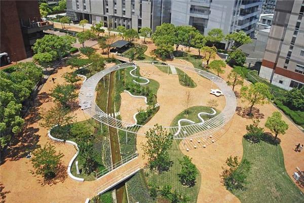 日本九州产业大学景观设计
