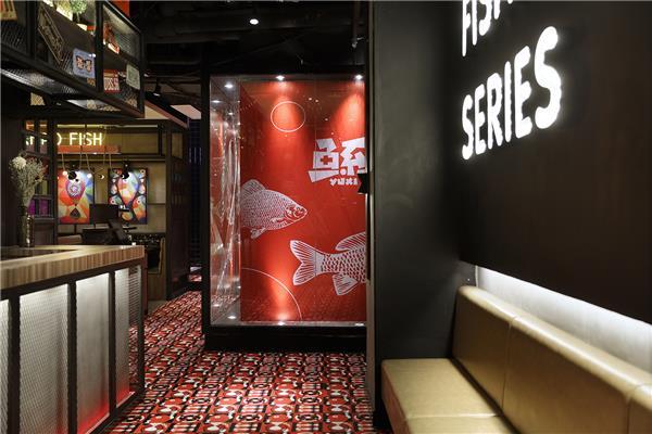 """餐厅空间设计,【艺鼎新作】鱼系:经得起""""烤""""验的鱼文化餐厅"""