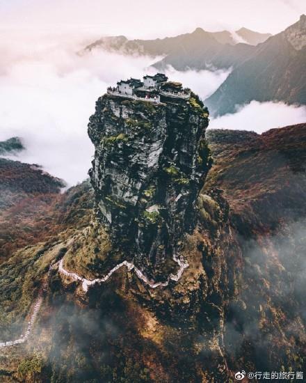贵州省铜仁市梵净山旅游景点