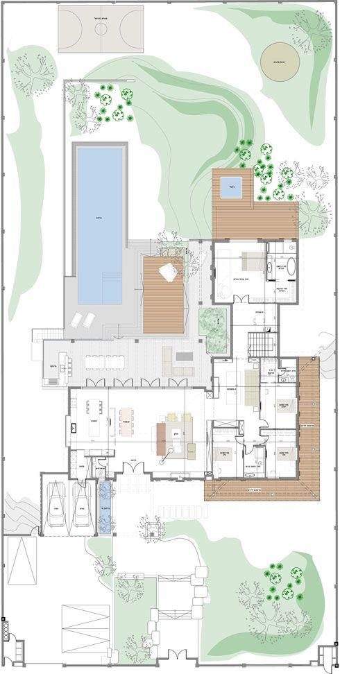 L型住宅平面图