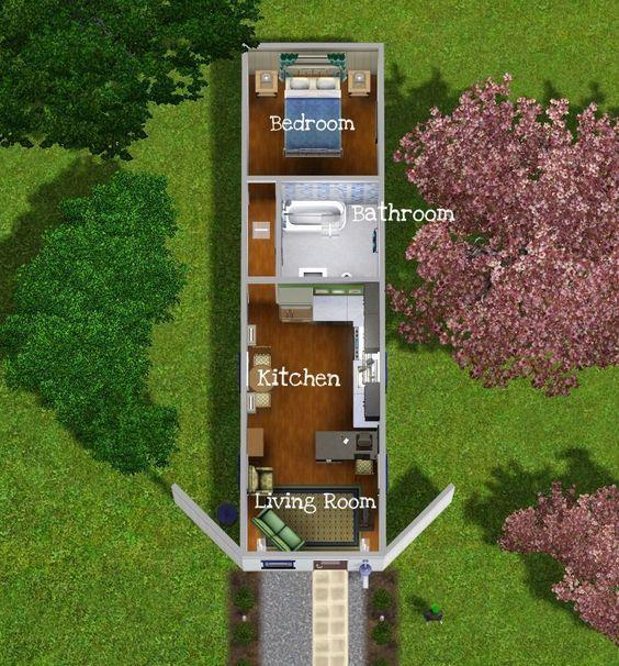 40英尺集装箱改造平面