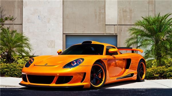敞篷超级跑车卡雷拉GT高清