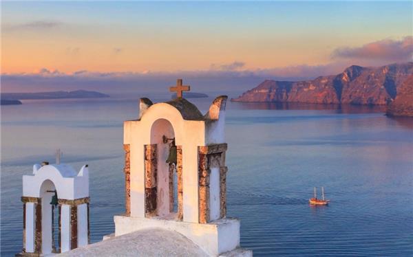 希腊米高诺斯岛唯美风景桌面壁纸