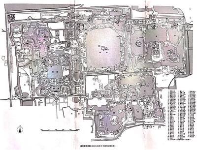 圆明园平面图