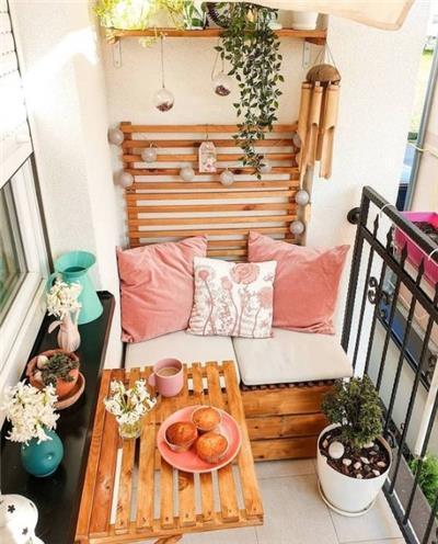 温馨调阳台设计