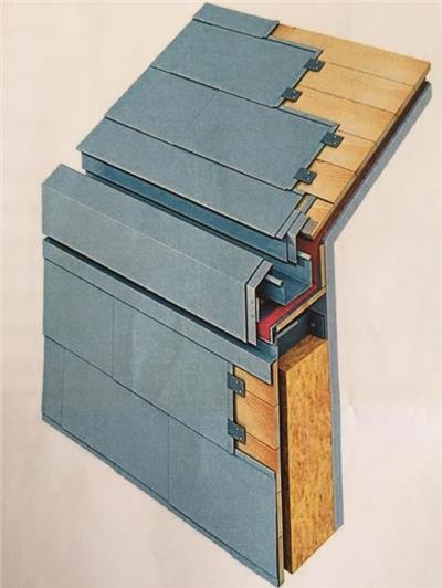 木结构建筑的檐沟示意图