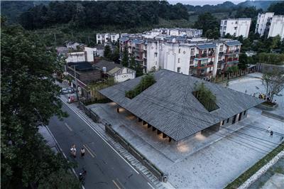 小石村文化大院及小石村整体规划 / 时地建筑工作室