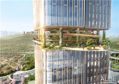 中标深圳国际低碳城文化会议中心建筑设计