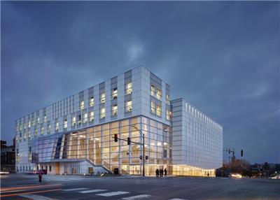 爱荷华大学的沃克斯曼音乐大厦