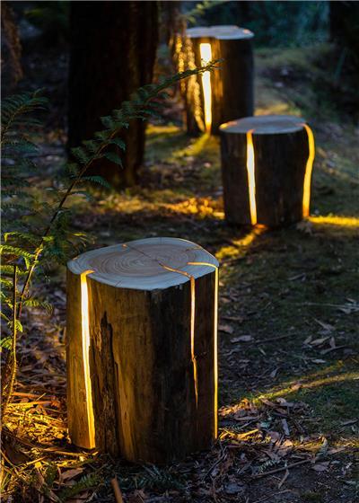 唯美的庭院灯光设计案例图片赏析
