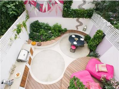 家庭住宅庭院的设计