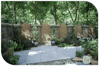 庭院设计案例——微型庭院微解读