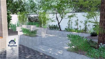 庭院设计案例——极简风庭院植物设计