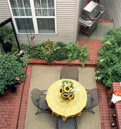 20平米私家庭院花园景观设计