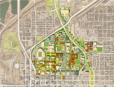 内布拉斯加大学林肯校区总体规划和景观总体规划