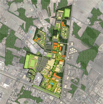 北卡罗来纳大学彭布罗克校区总体规划