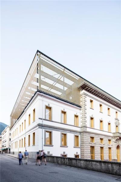 AZPML, Palacio del Cine de Locarno (Suiza)