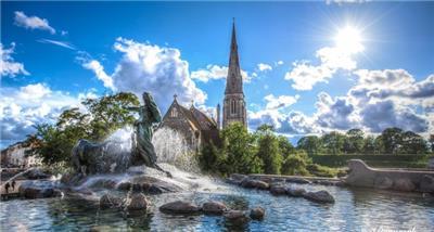 吉菲昂女神喷泉(Gefion Fountain)