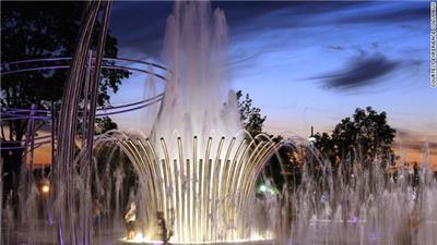 赛欧托喷泉(Scioto Mile Fountain)