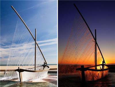 水船喷泉(Fuente del Barco de Agua)